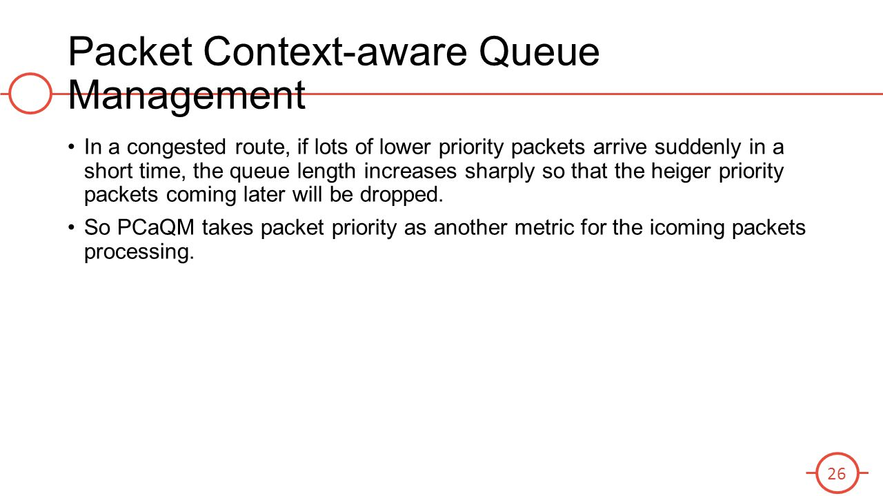 Packet Context-aware Queue Management