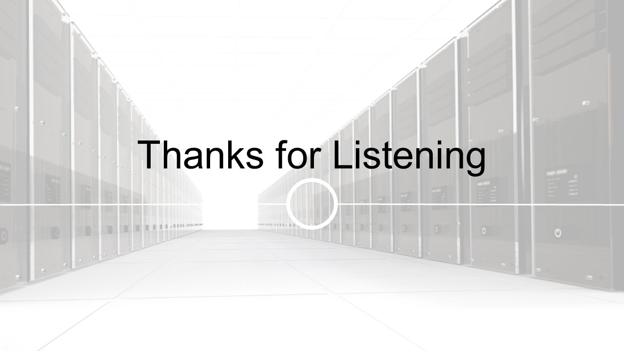 Thanks for Listening