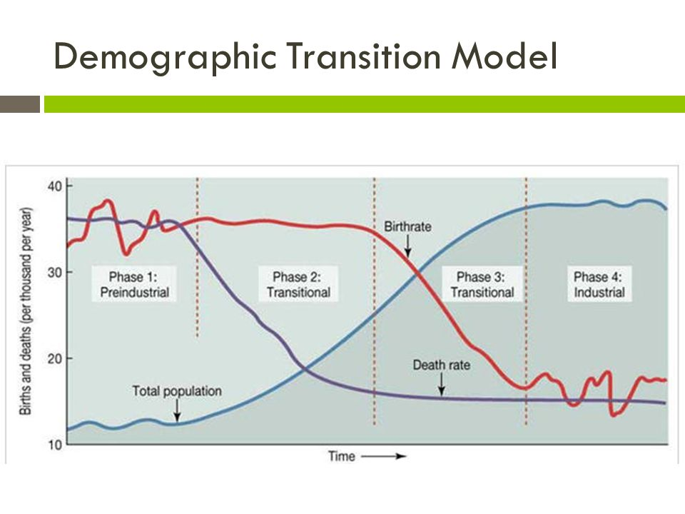 demographic transition theory There are many differences between non-industrial and industrial countries in this lesson, we will explore the concept of demographic transition.
