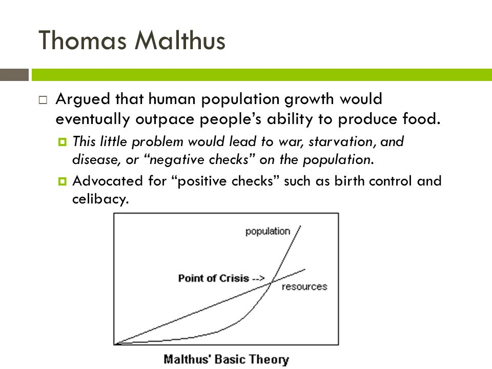 a critical evaluation of malthuss population theory Perhaps a critical evaluation of malthus's theory would help in answering this question malthus was right in that indeed there has been a population explosion in 1798 the population was 9 million people we have now passed the 6 billion mark (matt, r 2007.