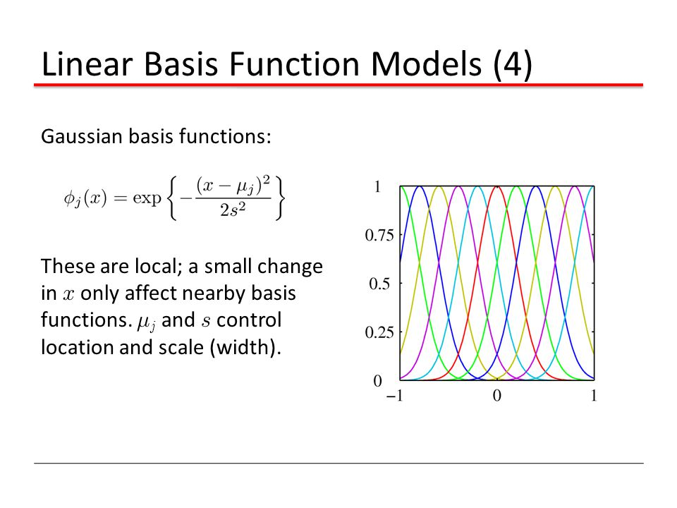 Linear Basis Function Models (4)