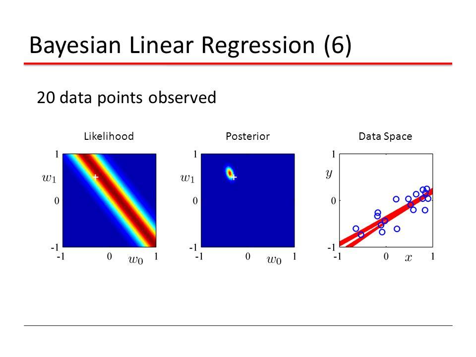 Bayesian Linear Regression (6)