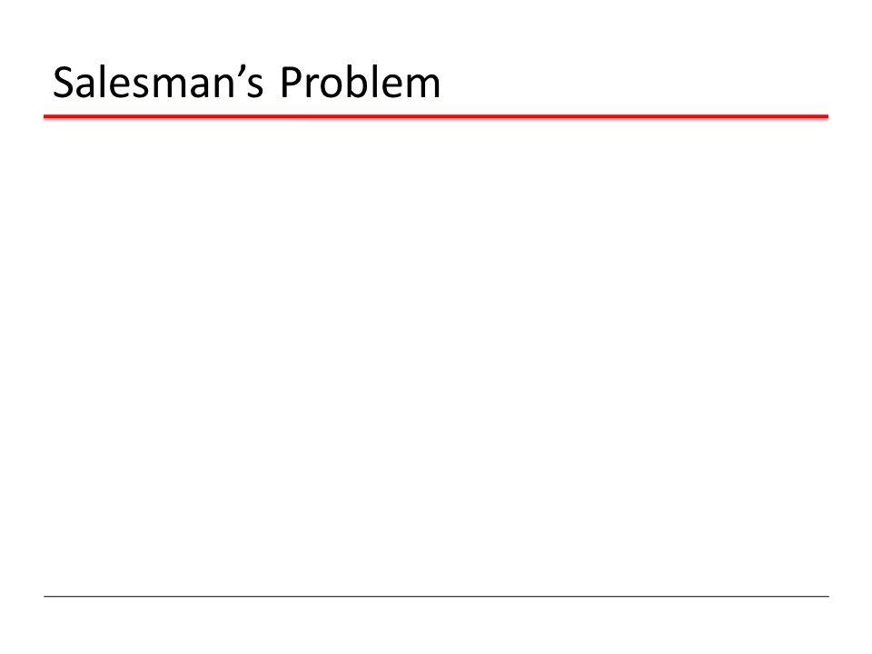 Salesman's Problem