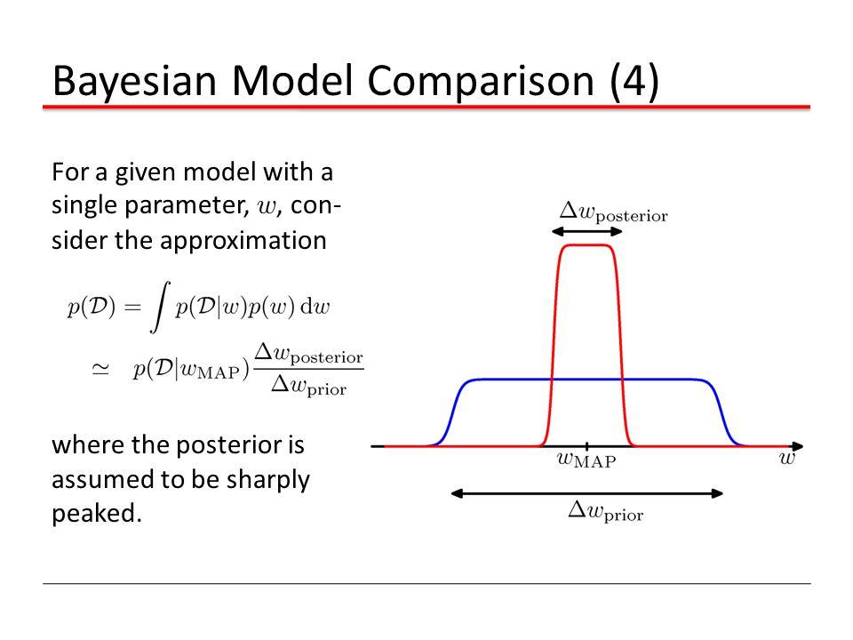 Bayesian Model Comparison (4)