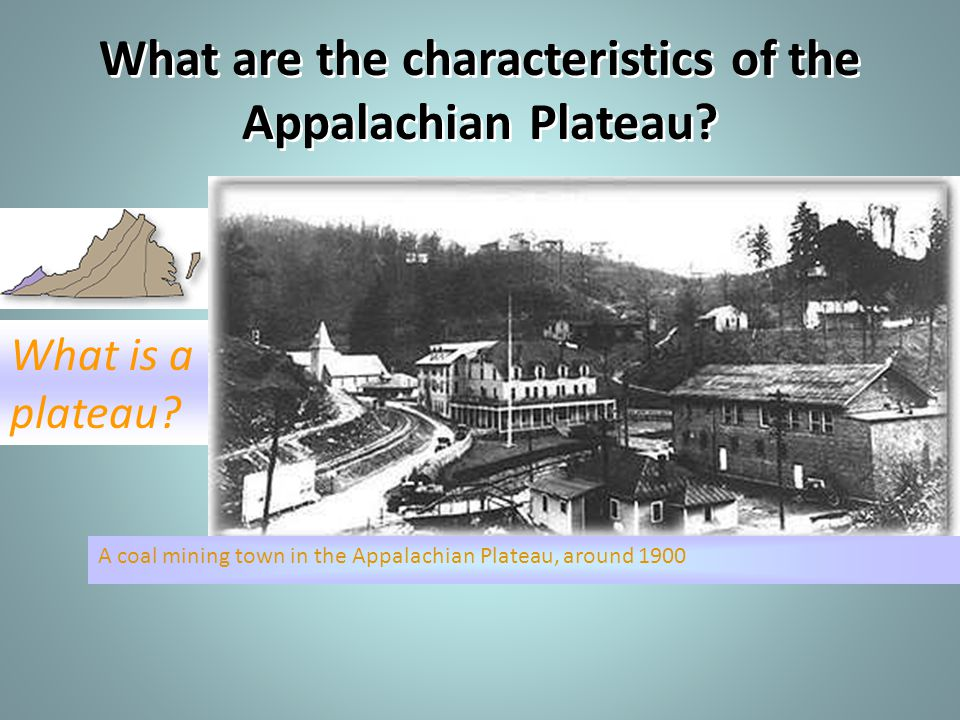 What are the characteristics of the Appalachian Plateau
