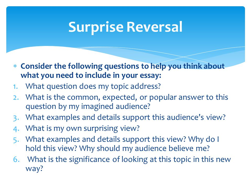allyn and bacon chapter pages ppt video online  surprise reversal consider the following questions to help you think about what you need to include