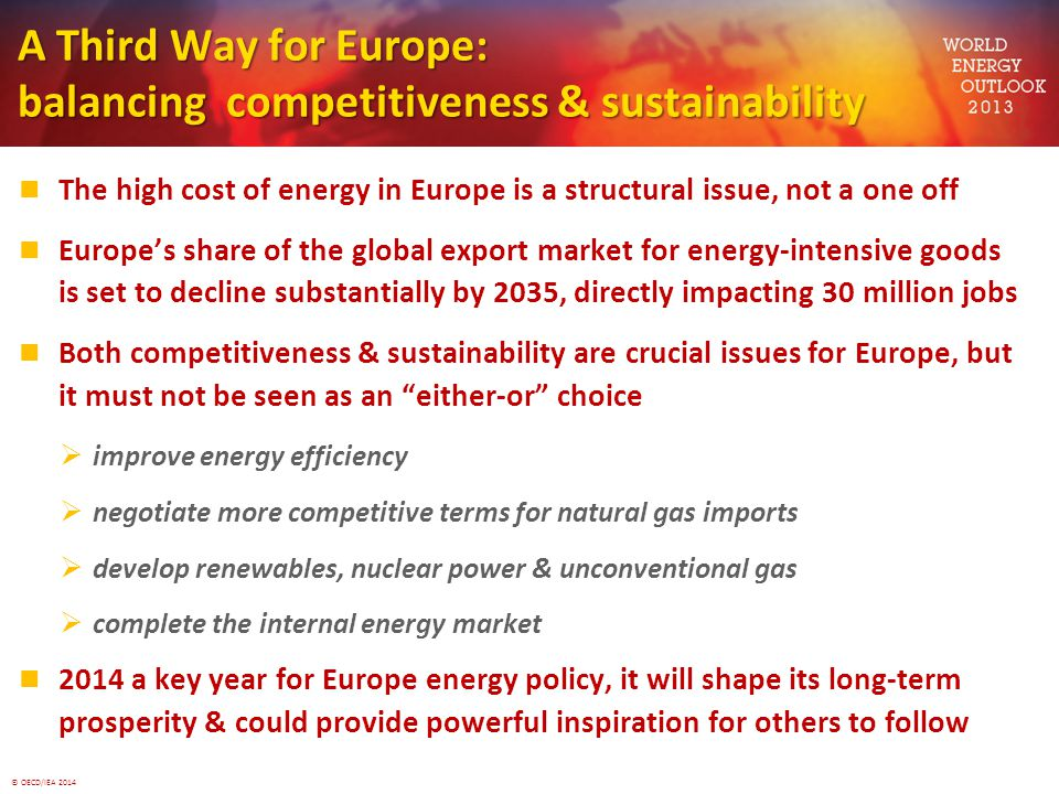 A Third Way for Europe: balancing competitiveness & sustainability