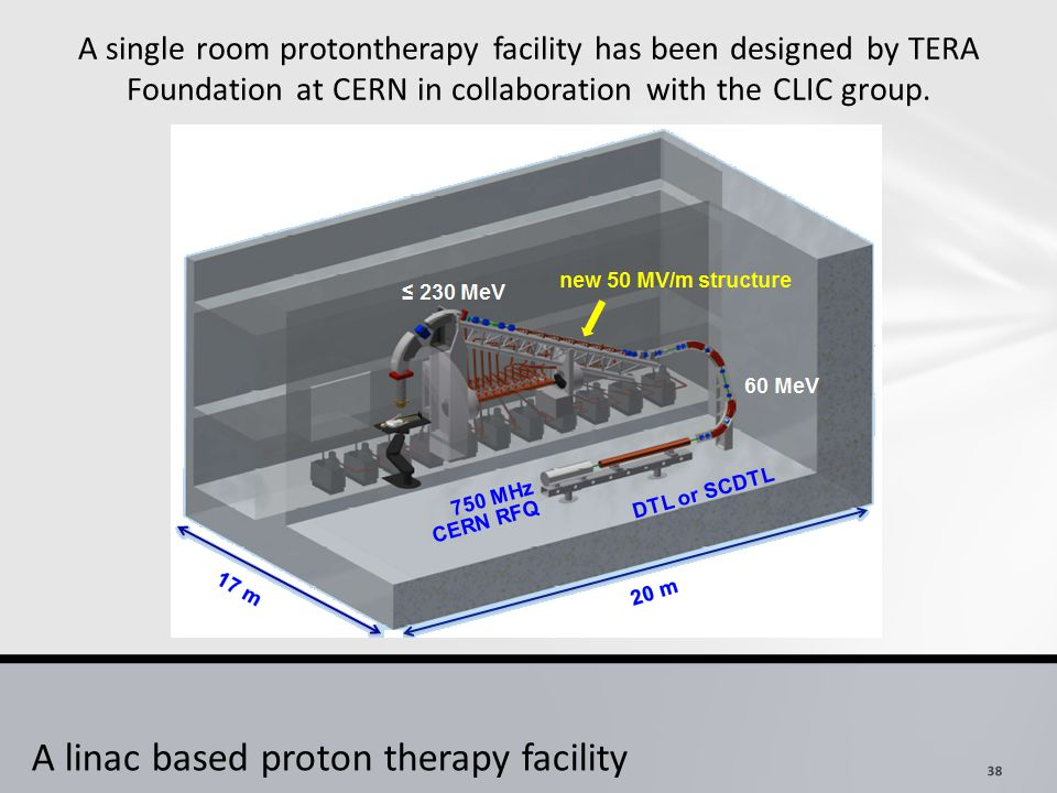 A linac based proton therapy facility