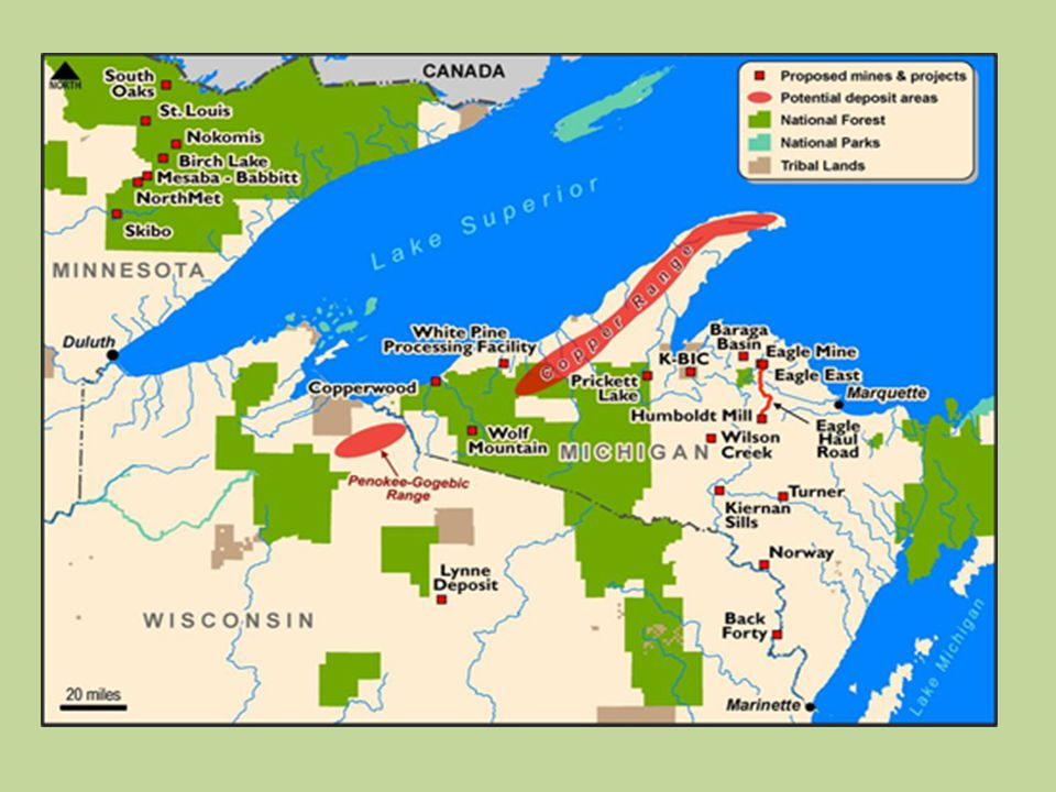 Mining and exploration companies are swarming the upper Great Lakes, especially Michigan's Upper Peninsula, northern Wisconsin and the arrowhead region of northern Minnesota. Lake Superior is in the bull's eye. Tribes in the region are exceedingly concerned about the long-term adverse impacts associated with mining to water quality, wild rice, sustenance fisheries, treaty reserved resources, and the overall environment.
