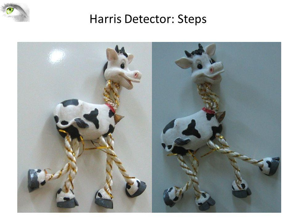Harris Detector: Steps