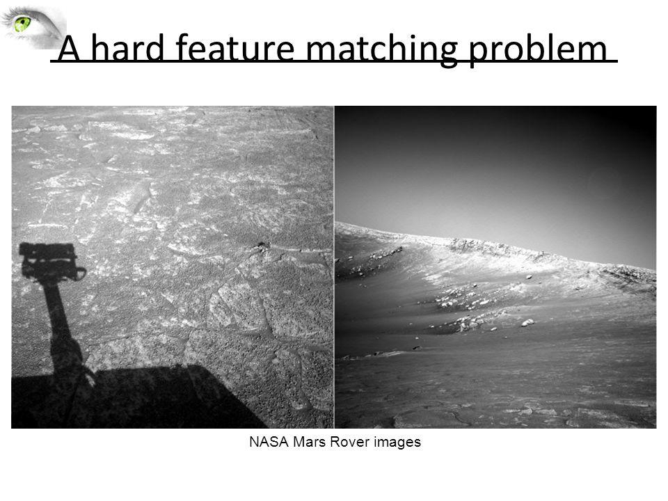 A hard feature matching problem