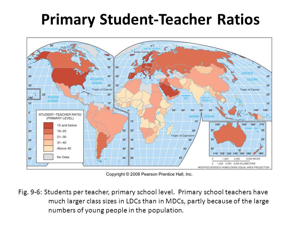 Primary Student-Teacher Ratios