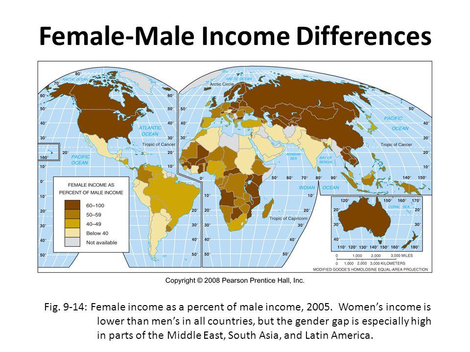 Female-Male Income Differences