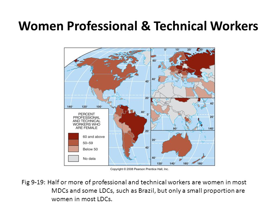Women Professional & Technical Workers