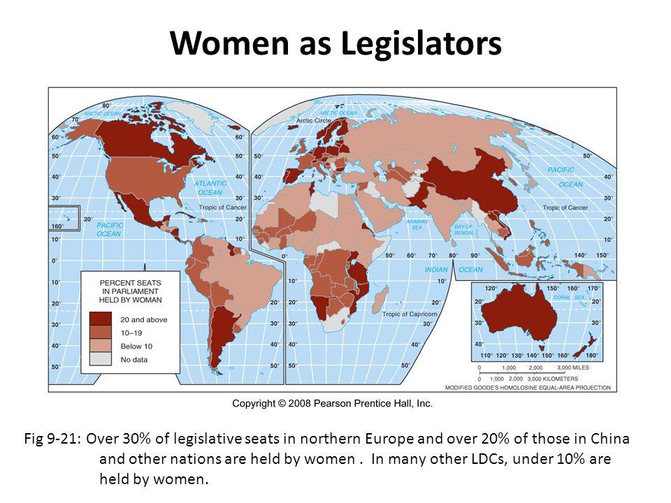 Women as Legislators