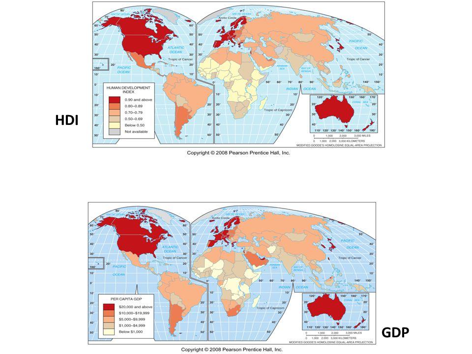 HDI GDP