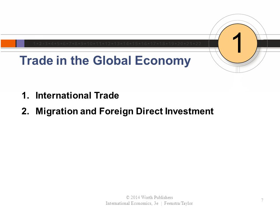 Trade in the Global Economy