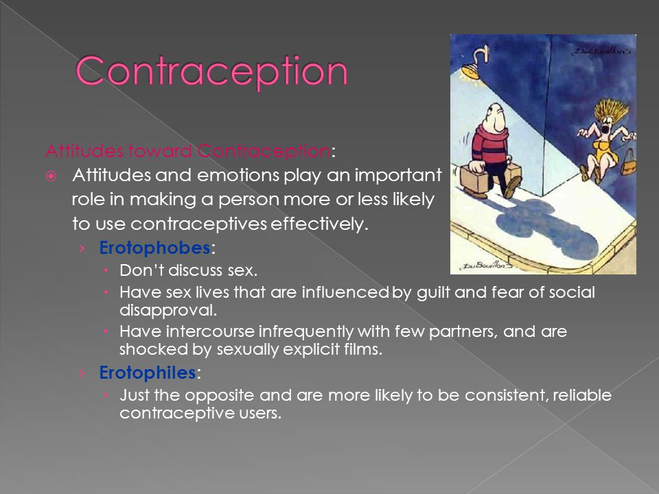 Contraception Attitudes toward Contraception: