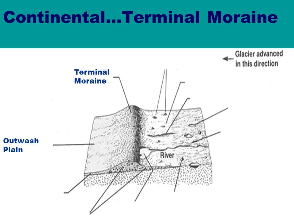 Continental…Terminal Moraine