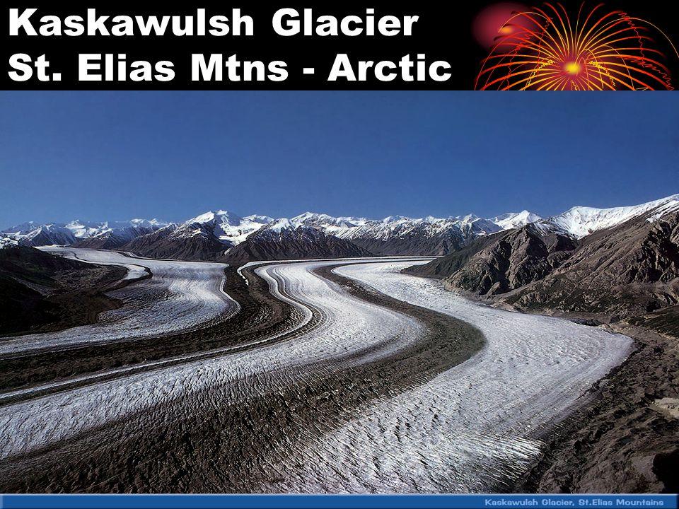 Kaskawulsh Glacier St. Elias Mtns - Arctic