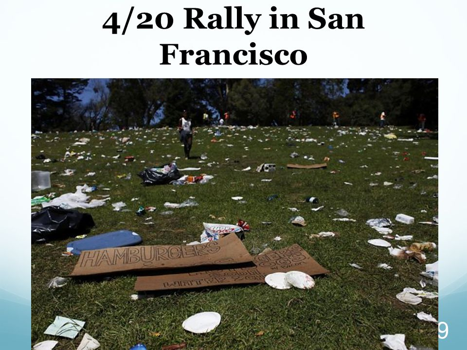 4/20 Rally in San Francisco