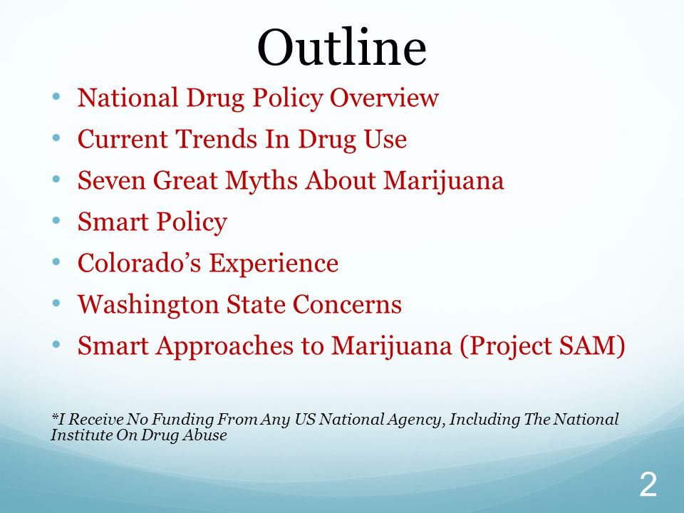 Outline National Drug Policy Overview Current Trends In Drug Use