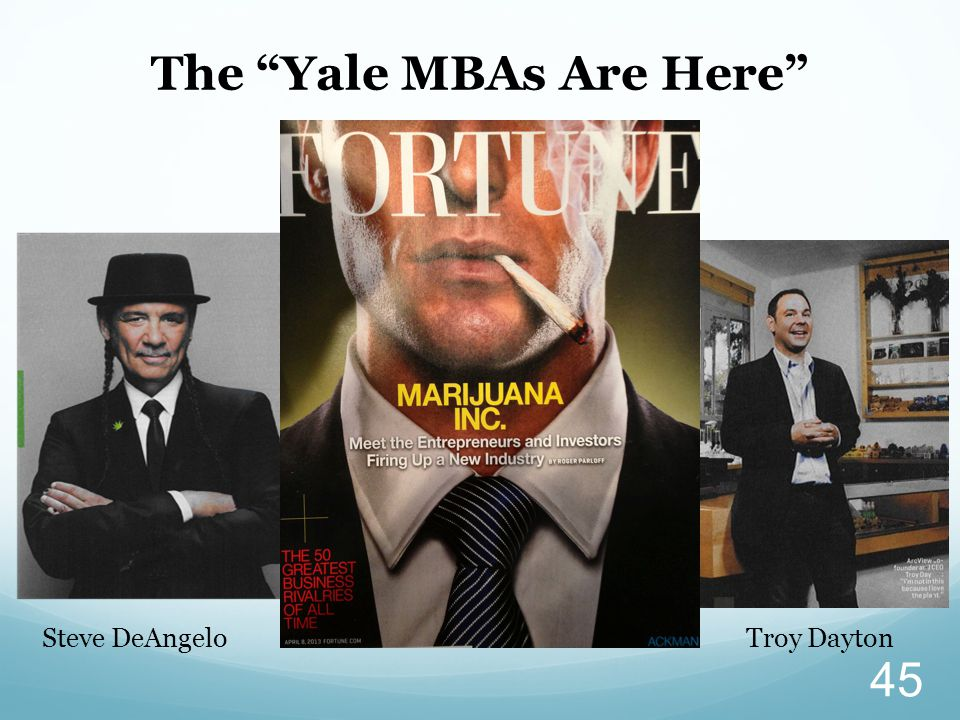 The Yale MBAs Are Here