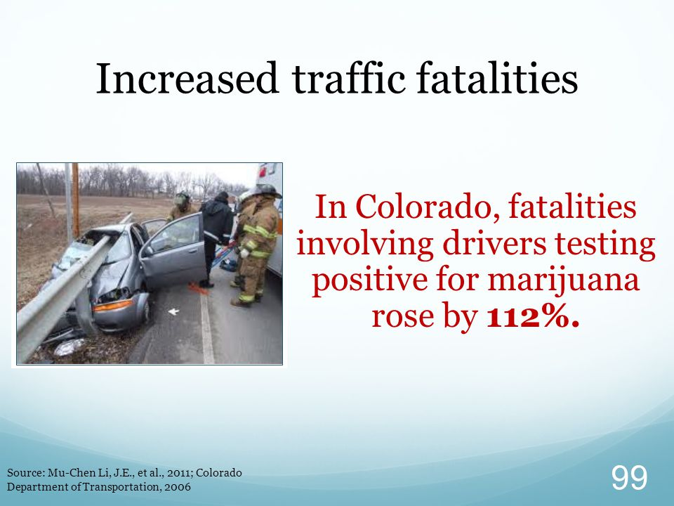 Increased traffic fatalities