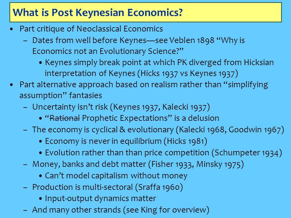 What is Post Keynesian Economics