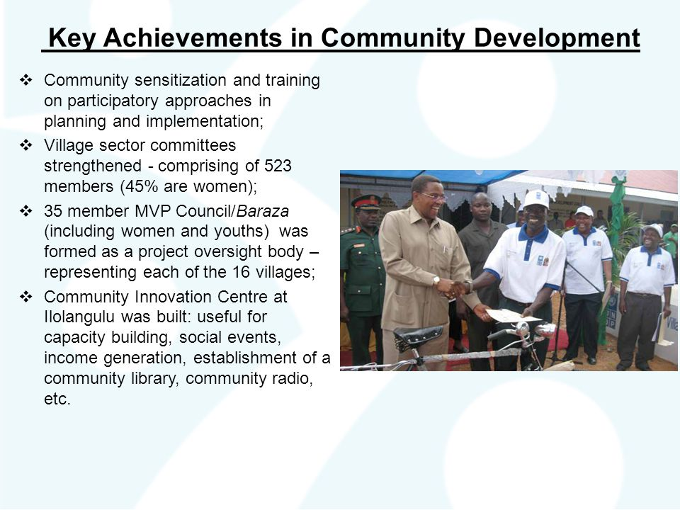 Key Achievements in Community Development