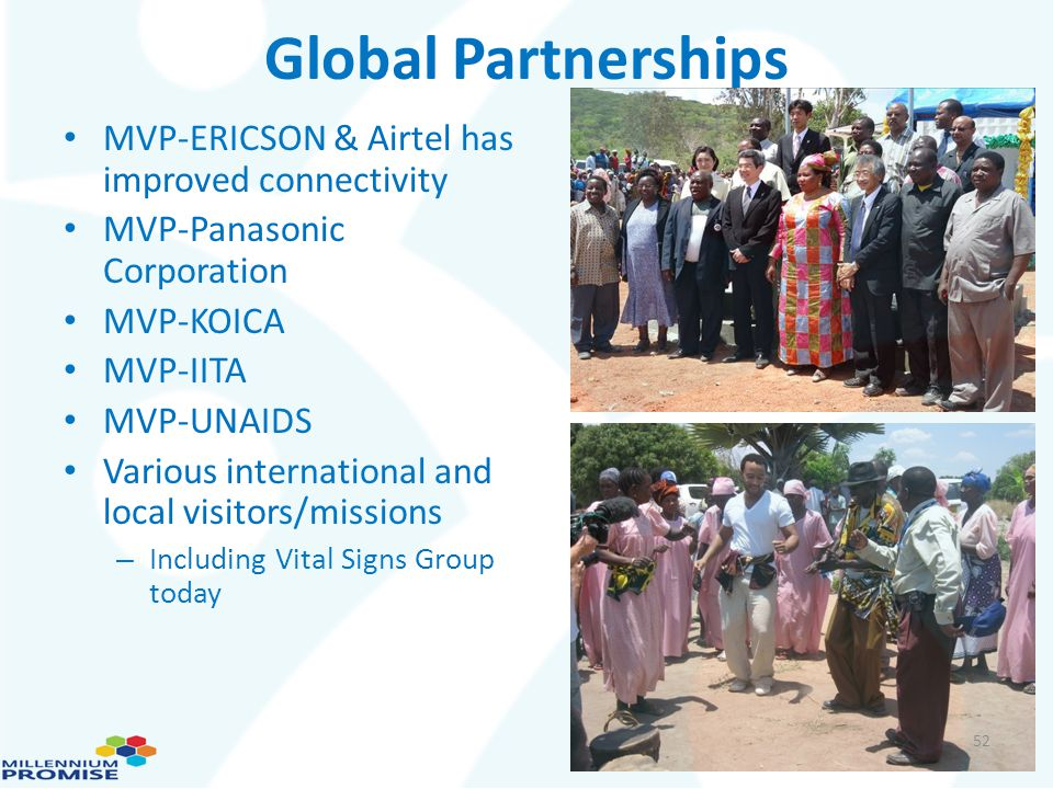 Global Partnerships MVP-ERICSON & Airtel has improved connectivity