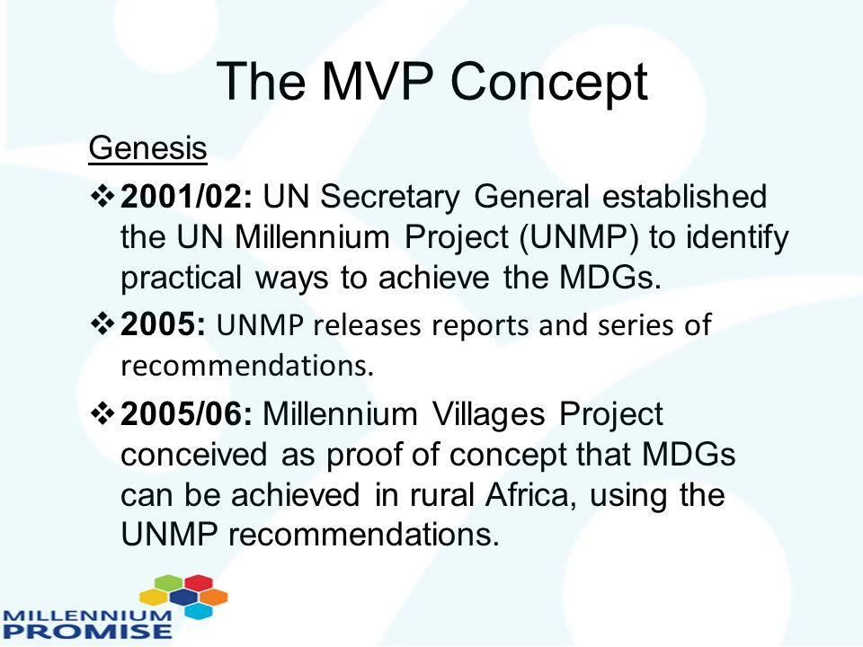 The MVP Concept Genesis