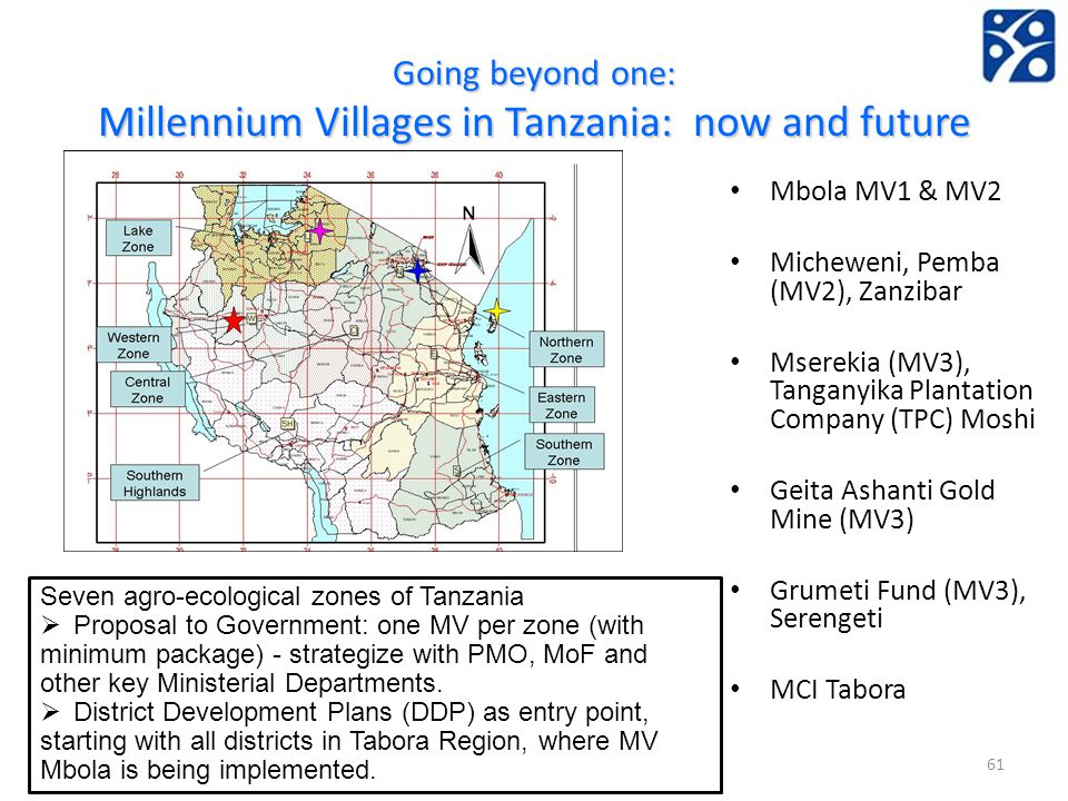Going beyond one: Millennium Villages in Tanzania: now and future