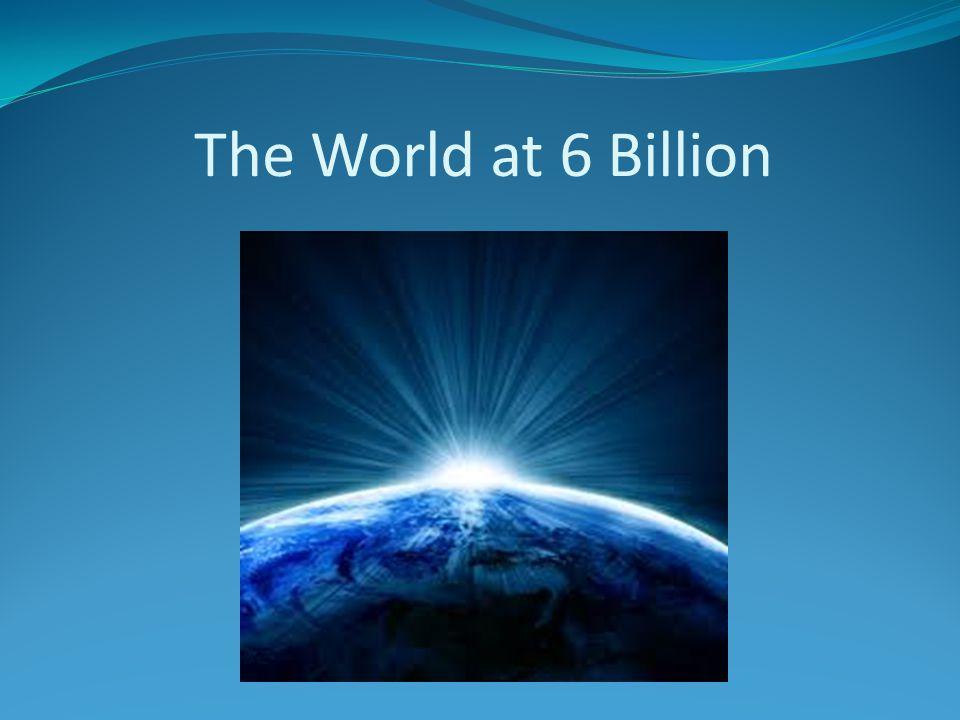 The World at 6 Billion