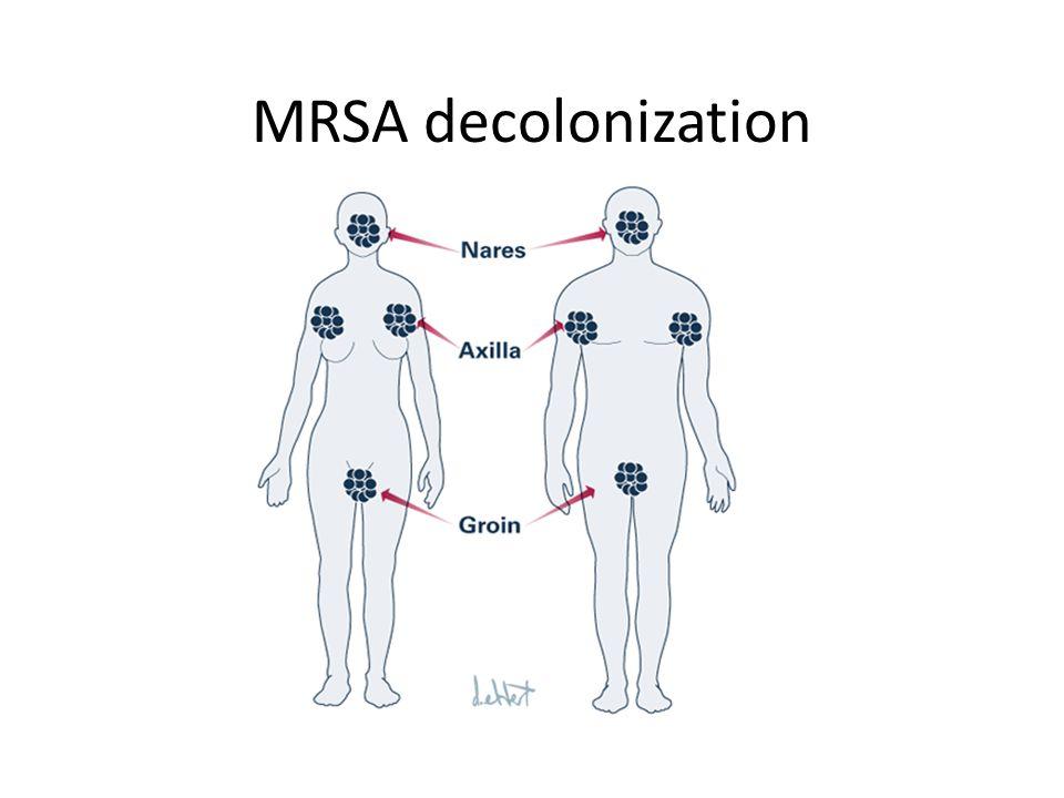 MRSA decolonization