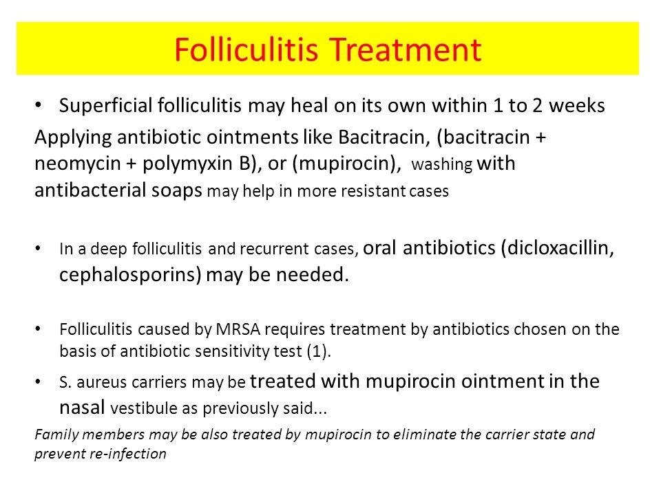 Folliculitis Treatment