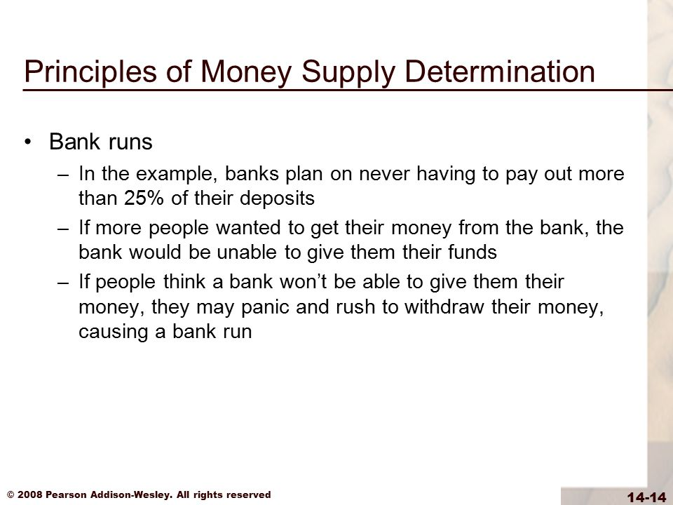 Principles of Money Supply Determination