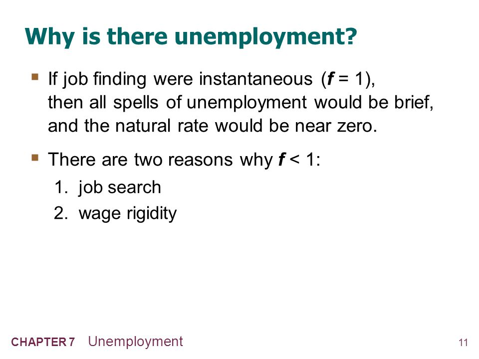 Job search & frictional unemployment