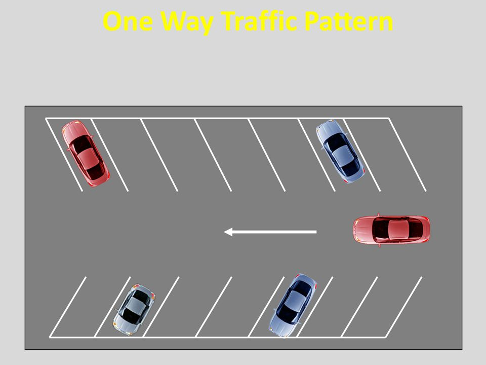 One Way Traffic Pattern