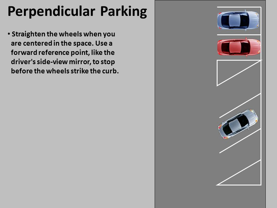 Perpendicular Parking