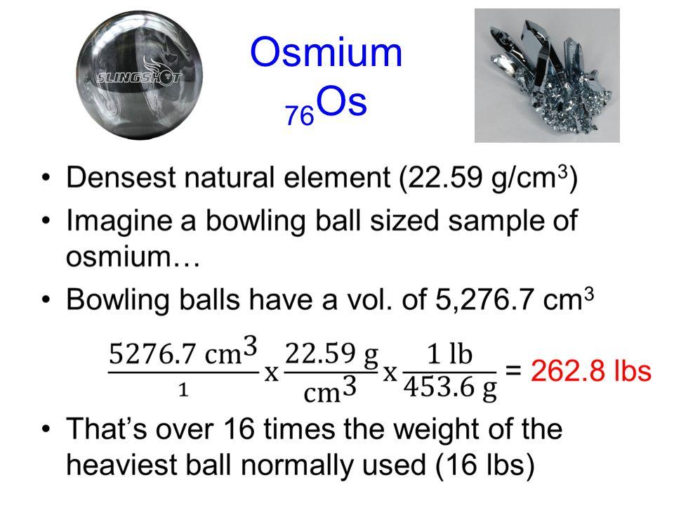 Osmium 76Os