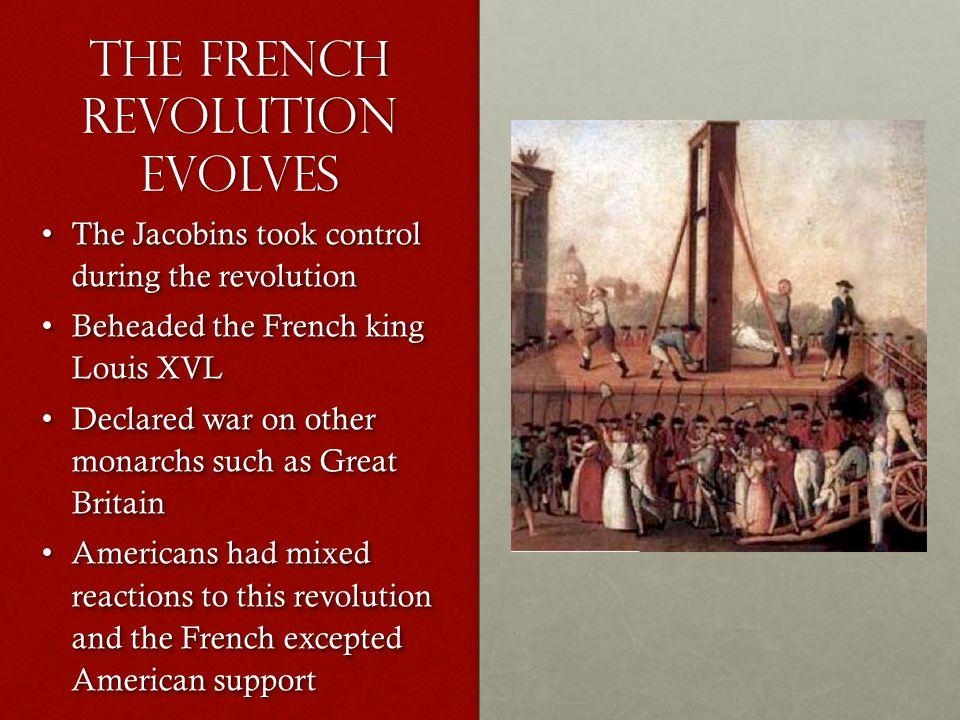 The French Revolution Evolves