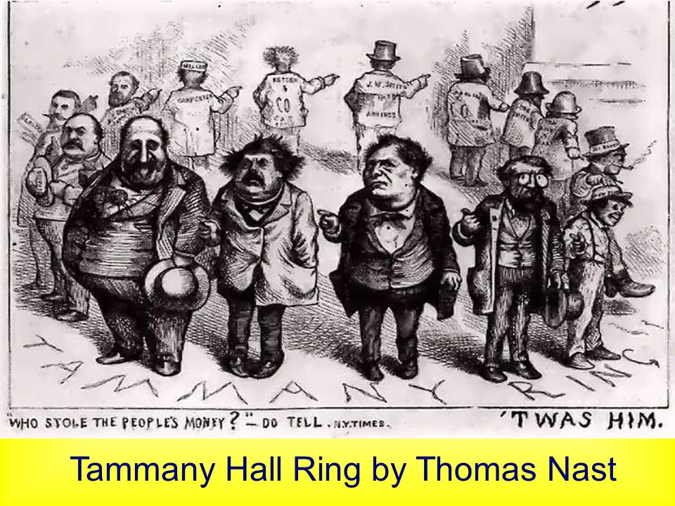 Tammany Hall Ring by Thomas Nast