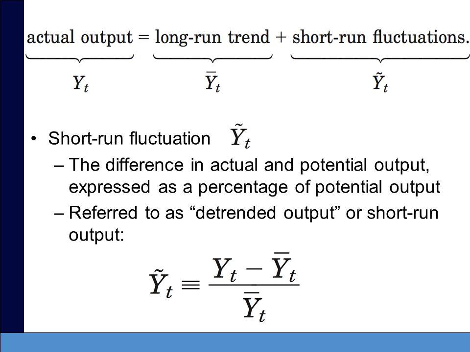 Short-run fluctuation