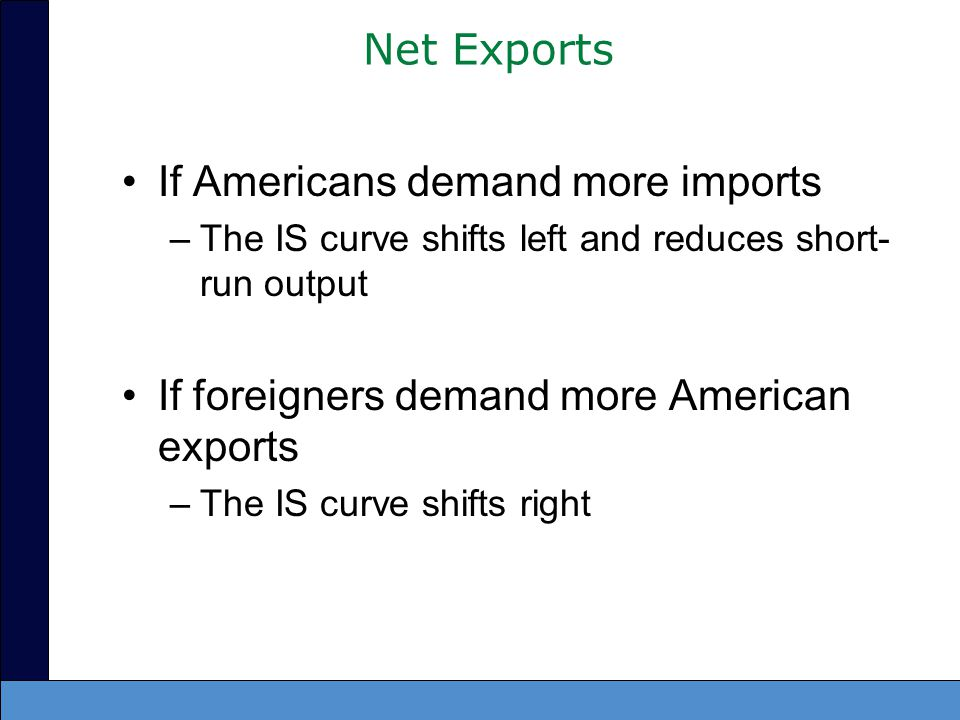 If Americans demand more imports