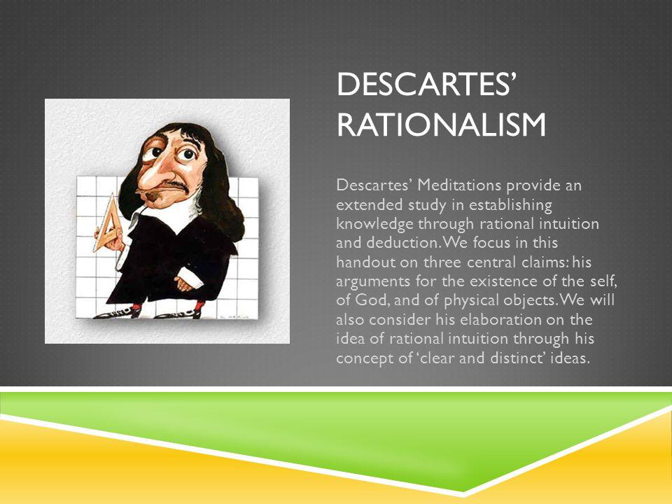 Descartes' rationalism