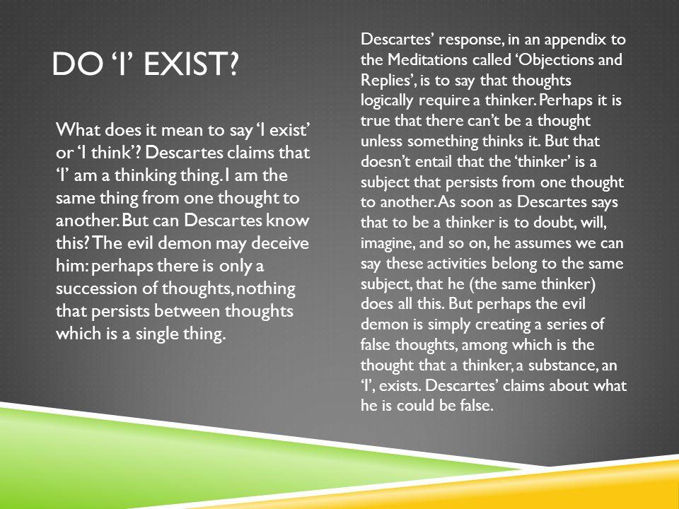 Do 'I' exist