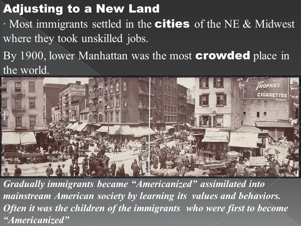 By 1900, lower Manhattan was the most crowded place in the world.