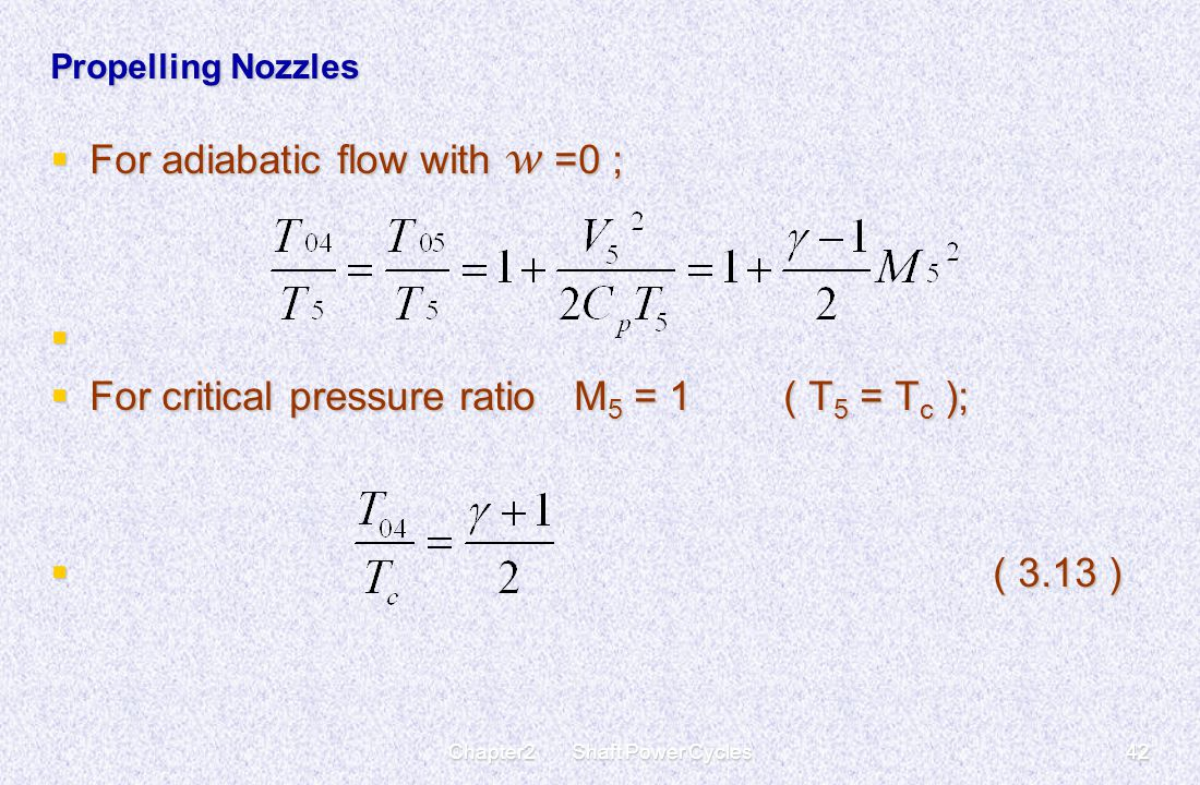 Chapter2 Shaft Power Cycles