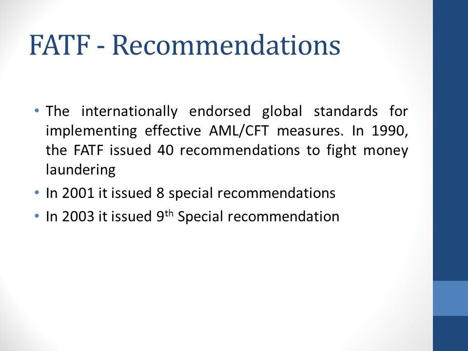 FATF - Recommendations
